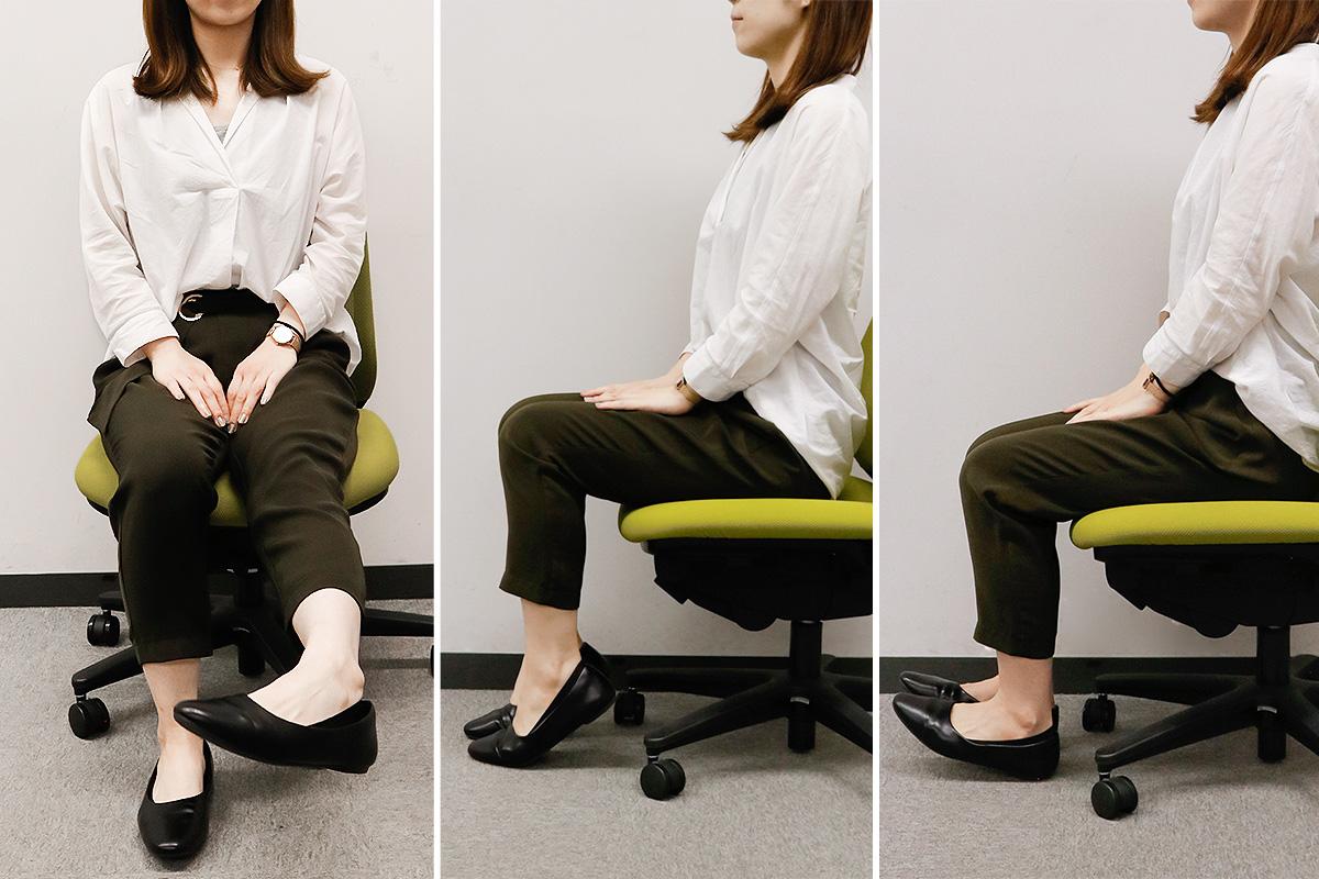 【オフィスでできる】足のむくみを予防するストレッチと生活習慣4つ