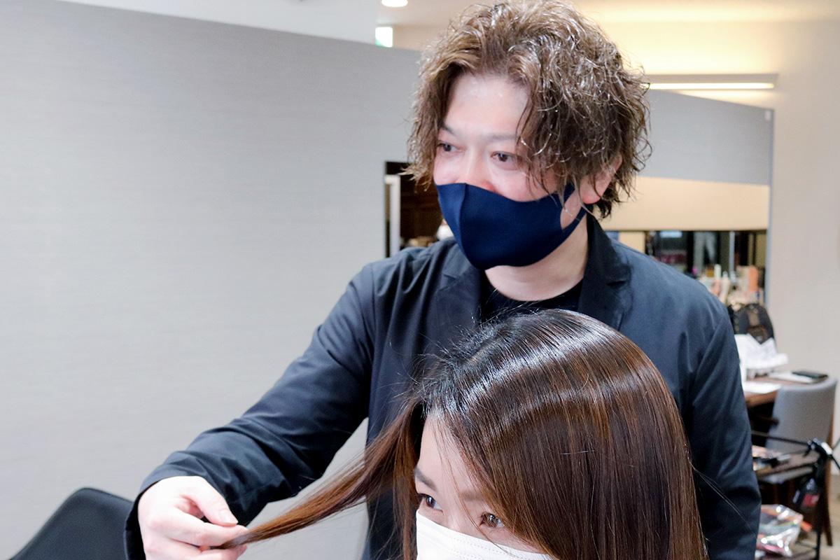 tricoカラー責任者の石川武人さん