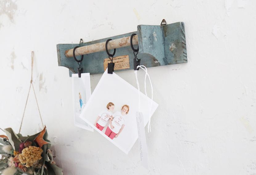 【DIY連載】セリアのカーテンクリップで作るおしゃれな「壁掛けピンチ」
