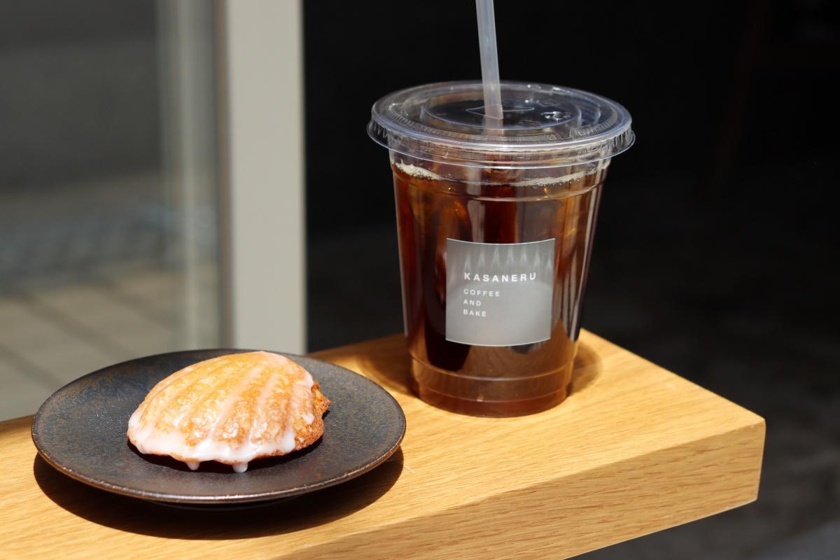 【塚本】「KASANERU(カサネル)」のコーヒーと自家製マドレーヌで心の充電を