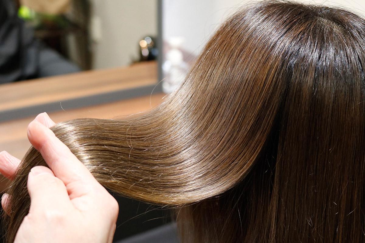 シアトネで叶うツヤ髪