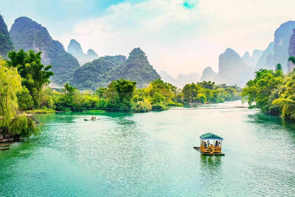 中国桂林地区