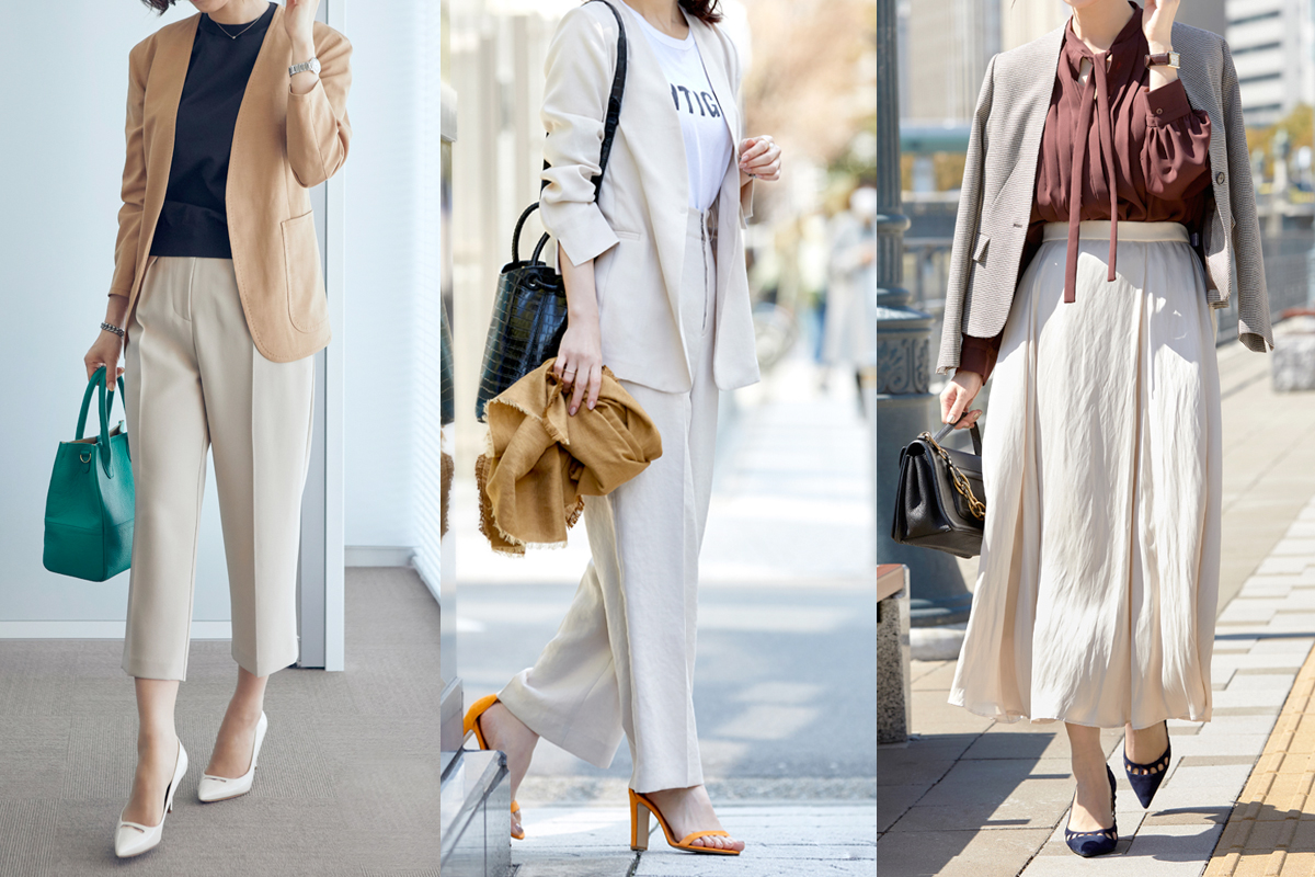 大人の【コンサバファッション】シーンに合わせたコーデ8選
