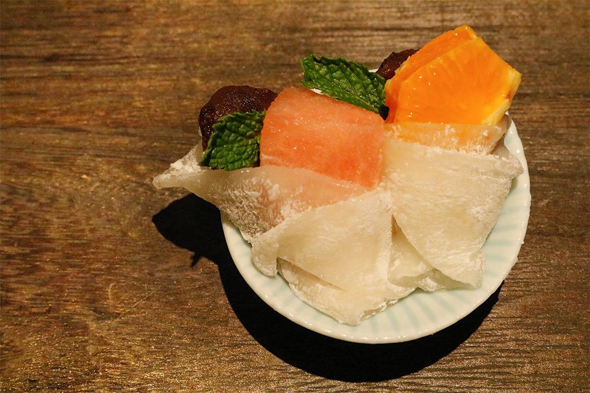 求肥を使った和菓子
