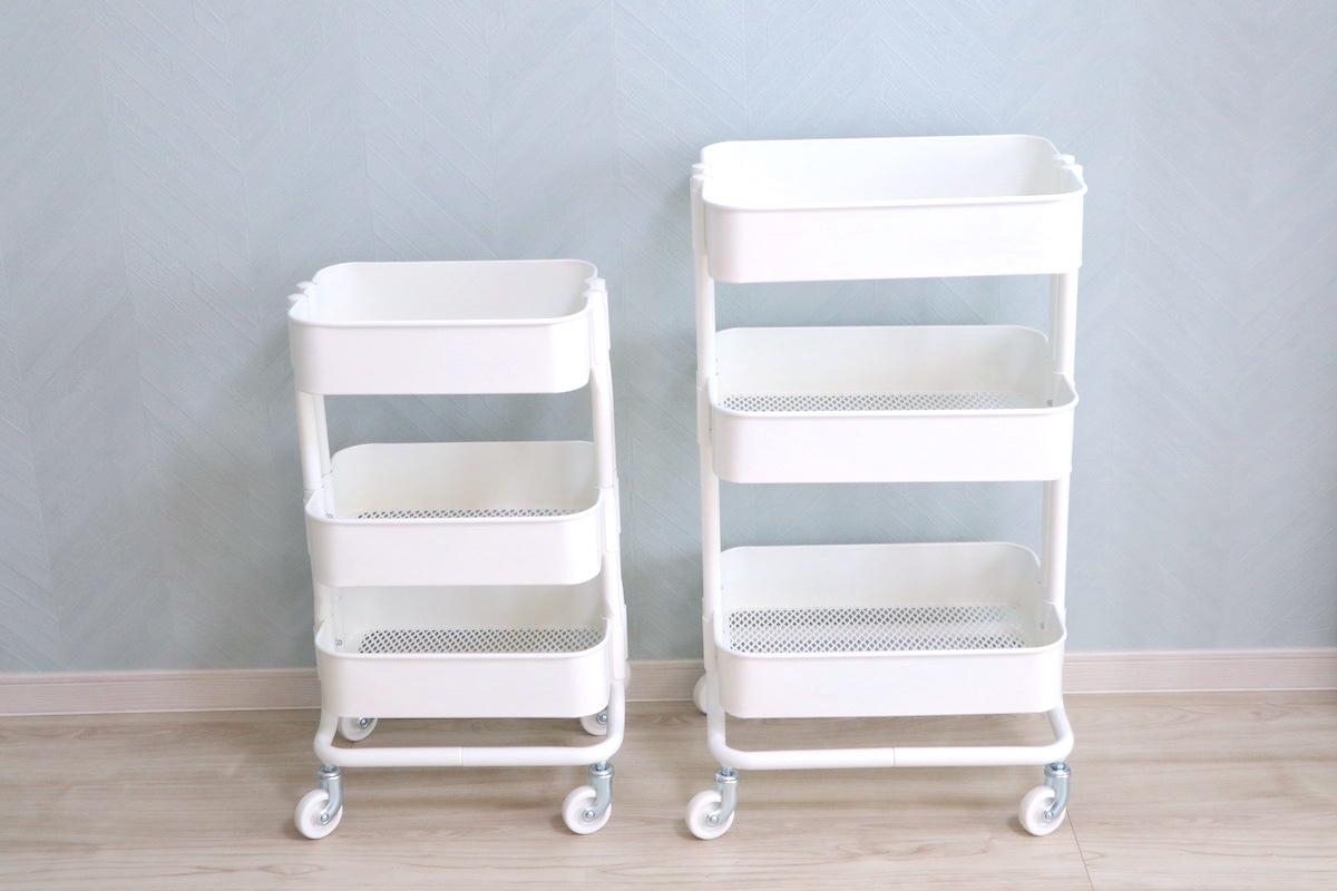 【IKEA】人気ワゴンの活用法5選!シンデレラフィットする収納グッズも
