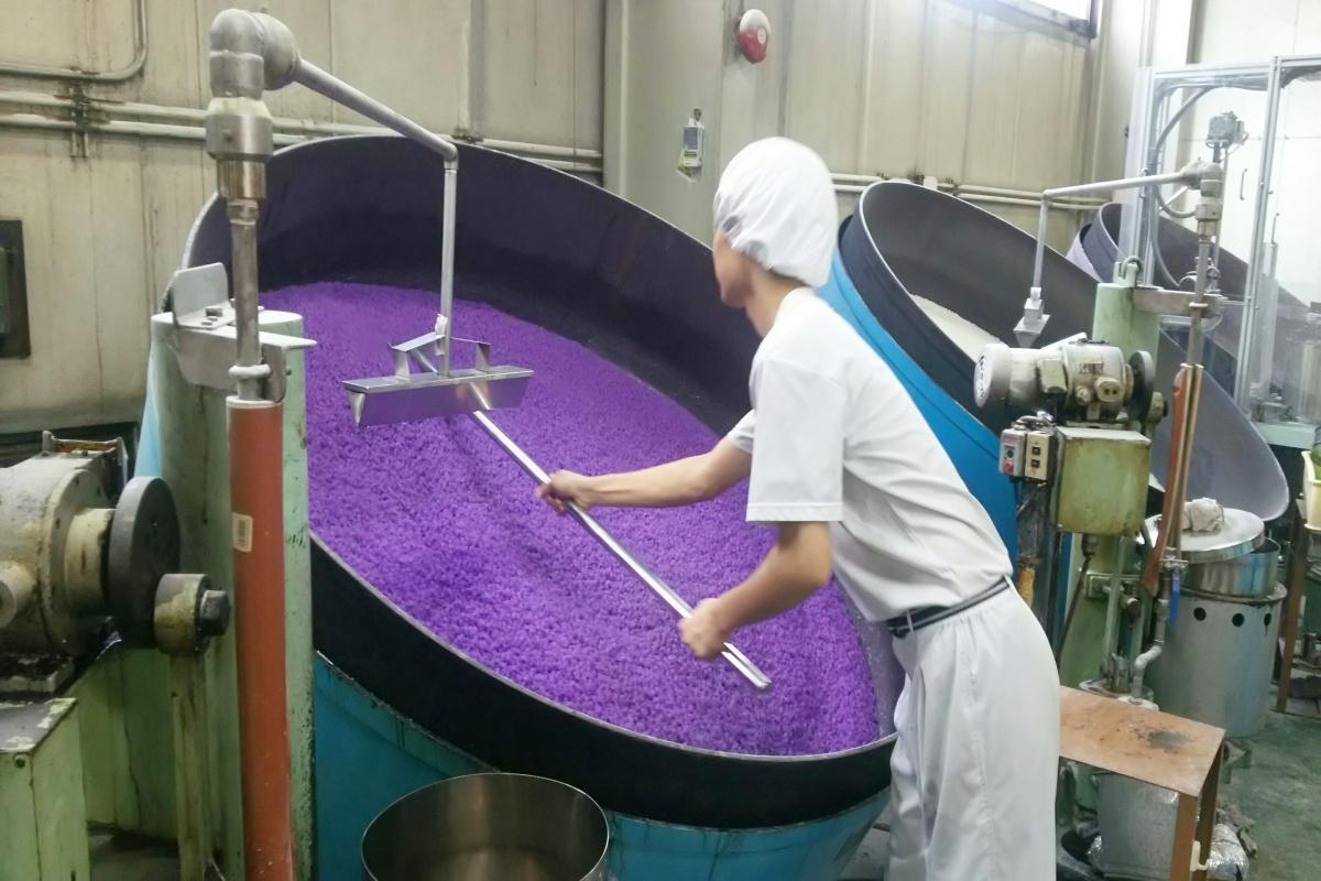 金平糖の工場