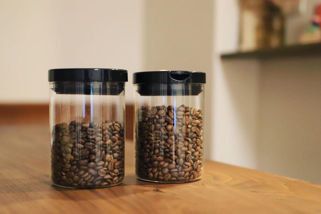 HARIOのコーヒーキャニスター