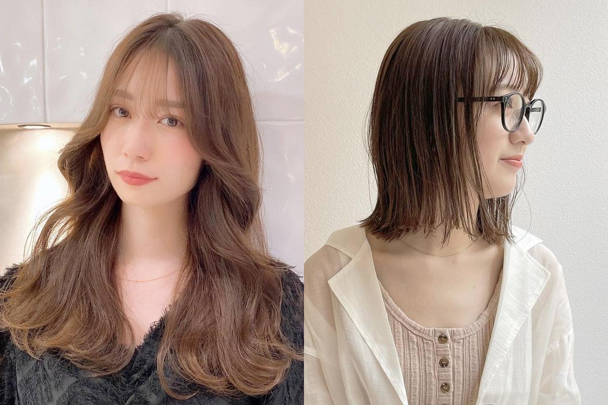 オルチャン風前髪アレンジで今っぽヘアに【大人女性に似合う韓国風スタイル集】