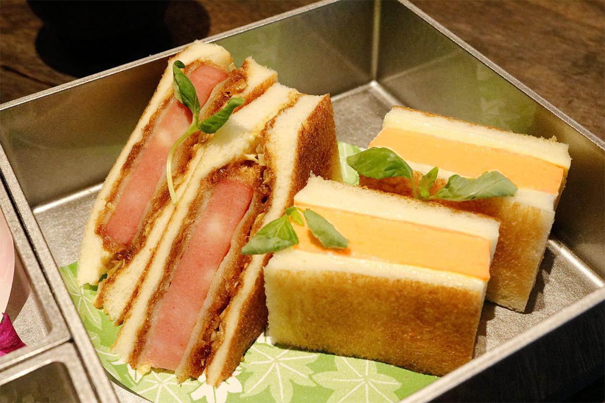 高匠の食パンを使ったサンドイッチ