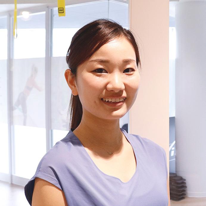 高地トレーニングスタジオ30ピークの友田有香さん