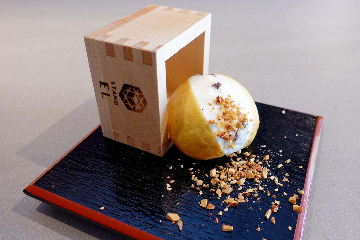 スタンドELの日本酒テイストのマリトッツォ