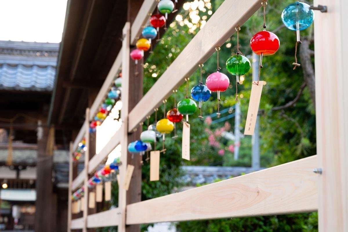 【関西】風鈴祭りが行われる神社仏閣5選!涼しげな音を聞きに行こう