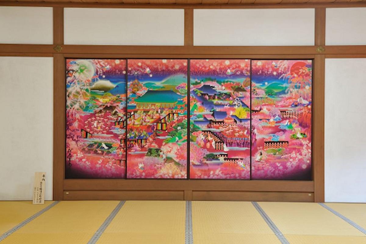 随心院「極彩色梅匂小町絵図」