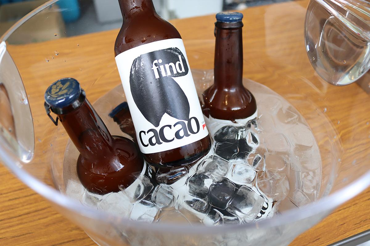 GOODNATURESTATIONのオリジナルカカオビール「find cacao」