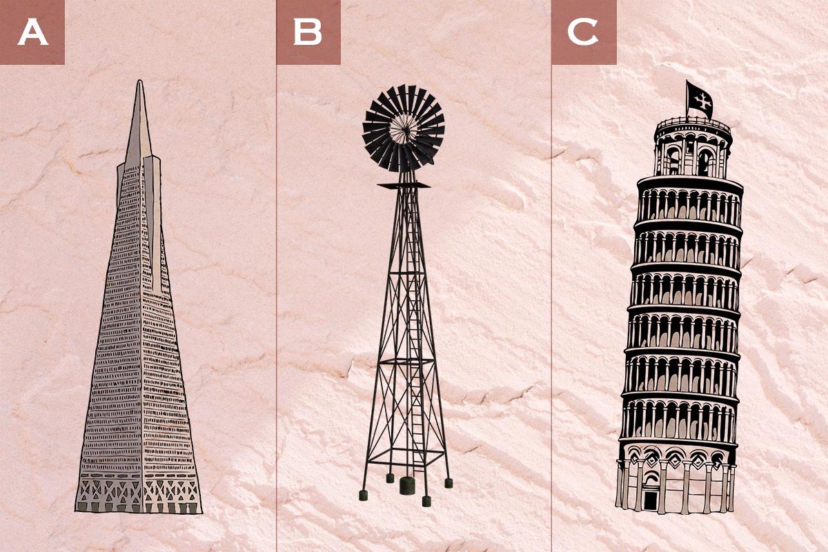 【直感診断】この中で一番気になる建造物は?