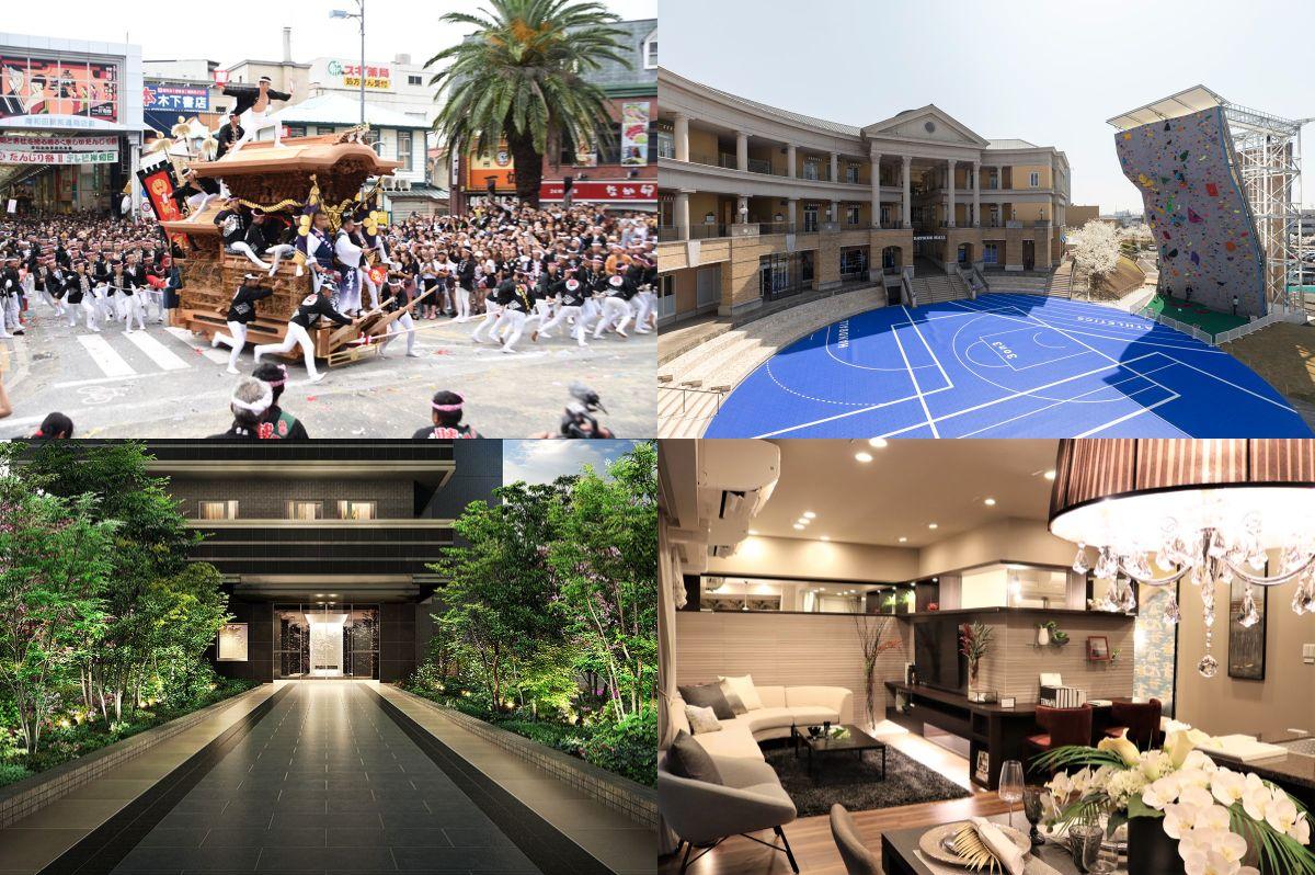 岸和田だんじり祭の2021年日程は?便利でオシャレな岸和田の魅力を紹介