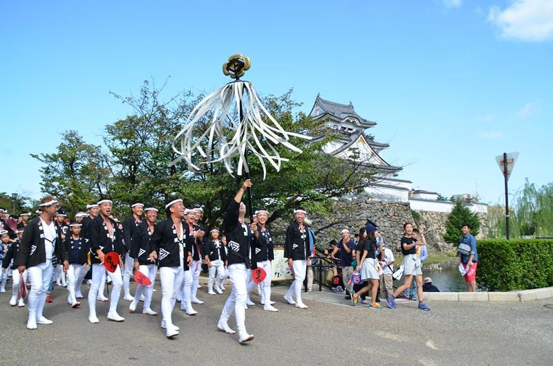 岸和田城とだんじり祭