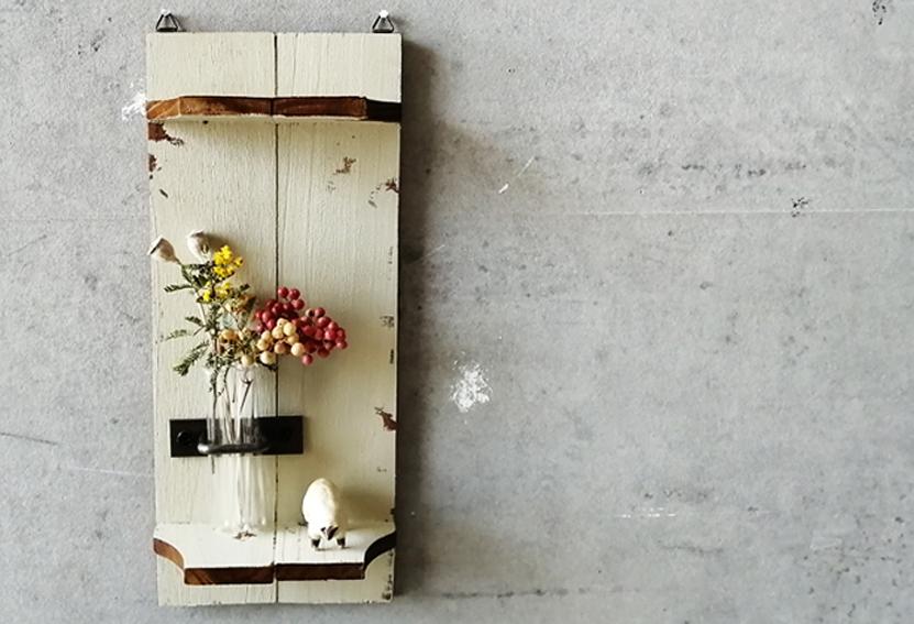 【DIY連載】セリアで簡単DIY!ユニークな「オブジェ風壁掛けラック」