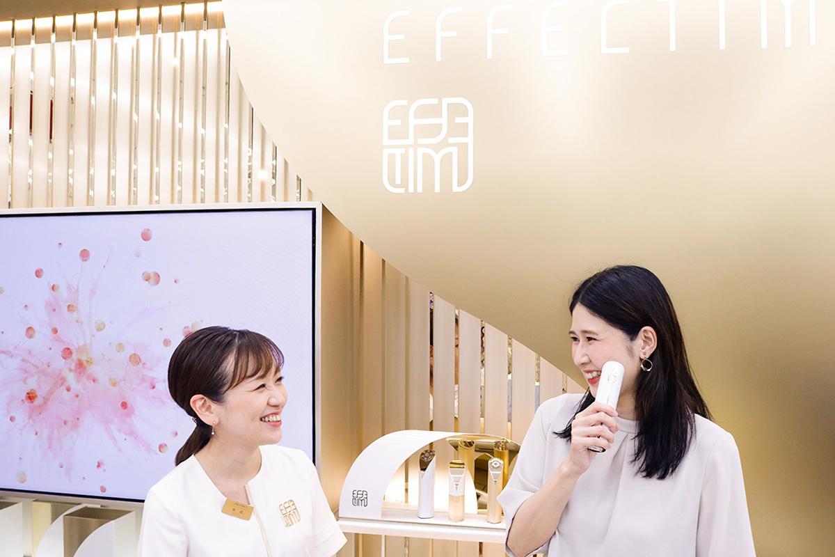 新オーダーメイドスキンケア「EFFECTIM」を体験!自分専用美容機器に注目