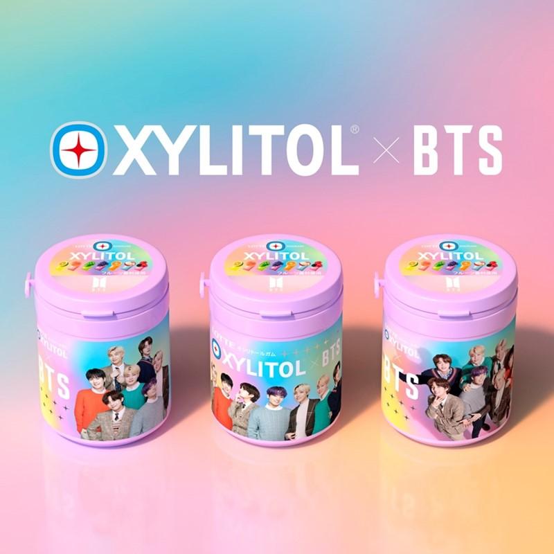 BTSメンバー全員デザインキシリトールガム