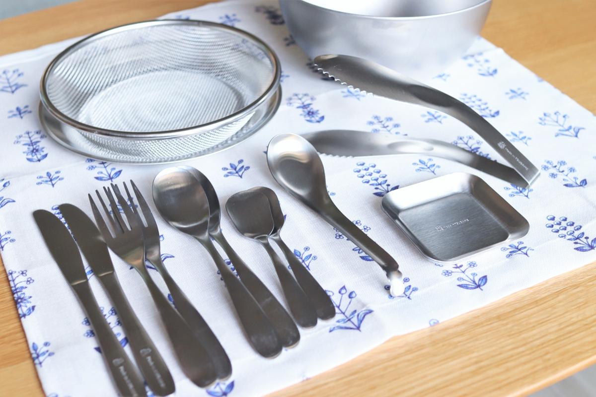 【ナチュラルキッチン】燕カトラリーが人気!おすすめのステンレスグッズを紹介