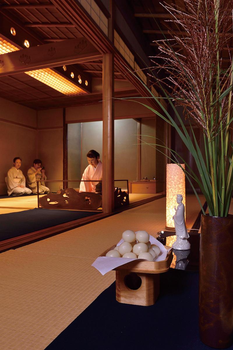 高台寺の観月茶会