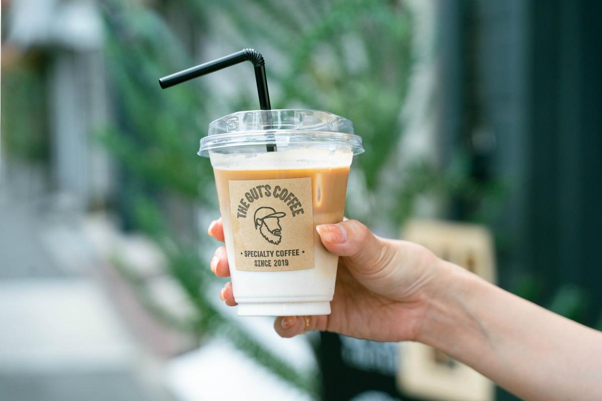 ザガッツコーヒーで一番人気のラテ