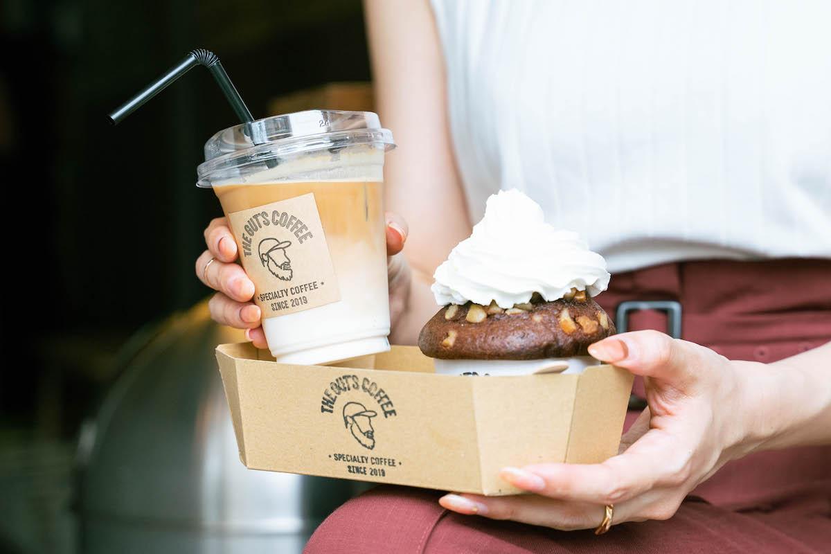 【中崎町】「ザ・ガッツコーヒー」で楽しむこだわりのコーヒーとスイーツ