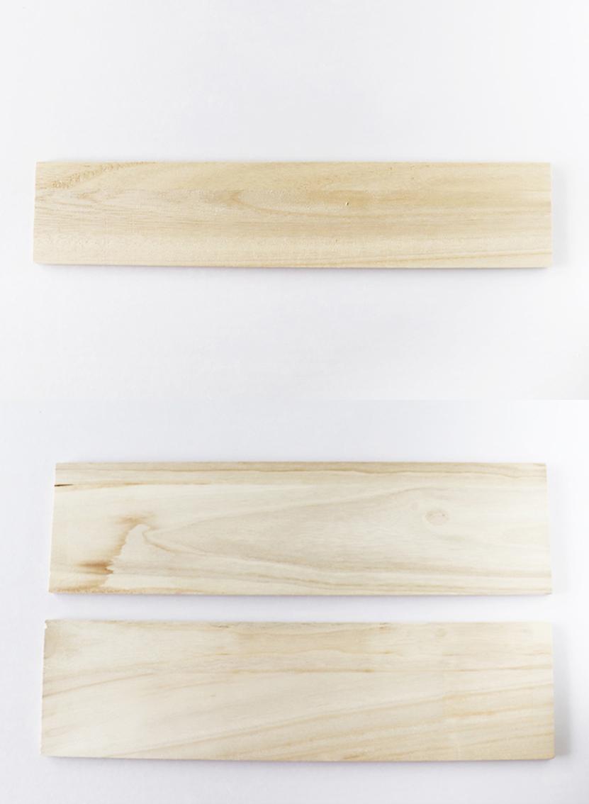 100均セリアの木板