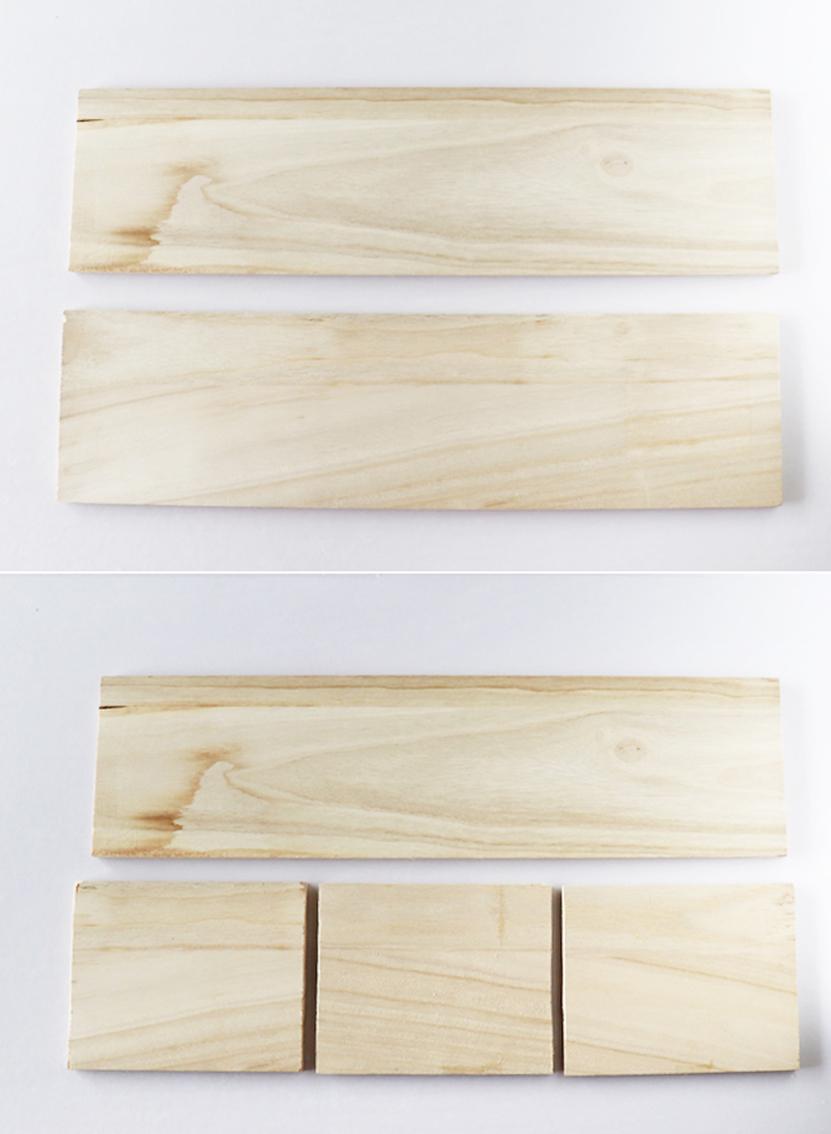 木板をカットする