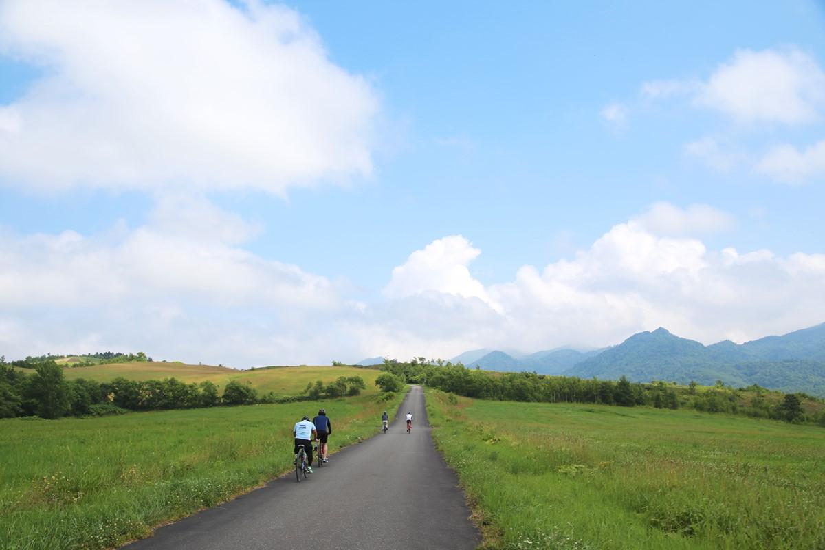 中頓別町でサイクリング