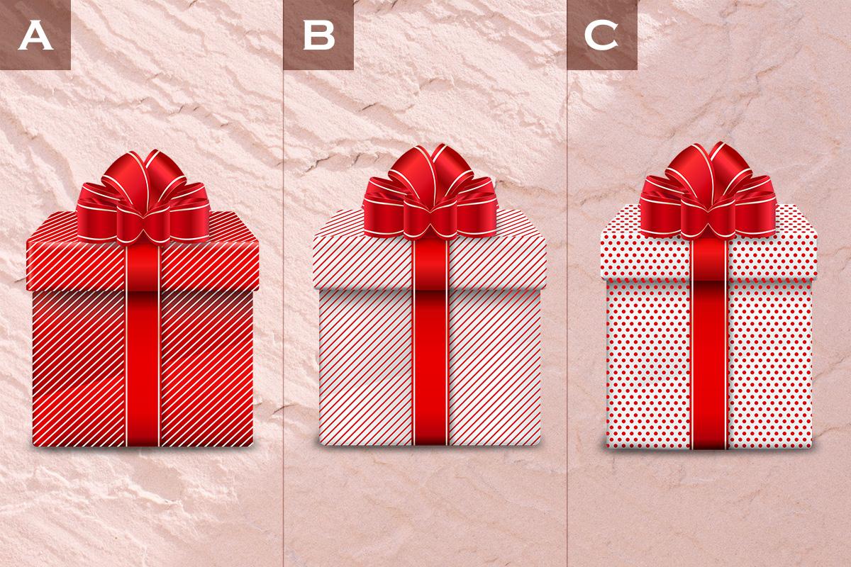 【直感診断】この中で一番気になるプレゼントボックスは?